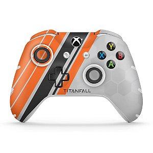 Skin Xbox One Slim X Controle - Titanfall Edition