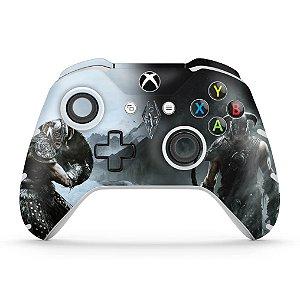 Skin Xbox One Slim X Controle - Skyrim