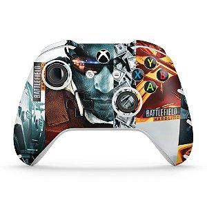 Skin Xbox One Slim X Controle - Battlefield Hardline