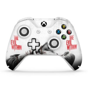 Skin Xbox One Slim X Controle - The Evil Within