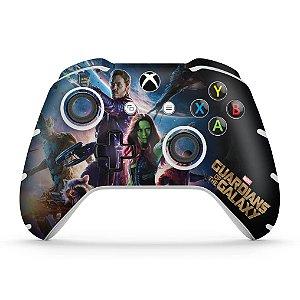 Skin Xbox One Slim X Controle - Guardiões da Galaxia