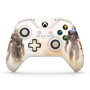 Skin Xbox One Slim X Controle - Halo 5: Guardians #A