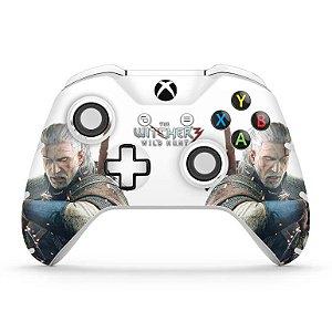 Skin Xbox One Slim X Controle - The Witcher 3 #B