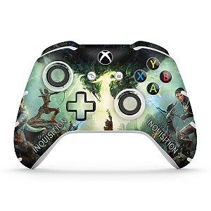 Skin Xbox One Slim X Controle - Dragon Age Inquisition
