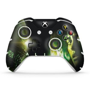 Skin Xbox One Slim X Controle - Alien Isolation