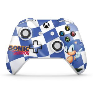 Skin Xbox One Slim X Controle - Sonic The Hedgehog