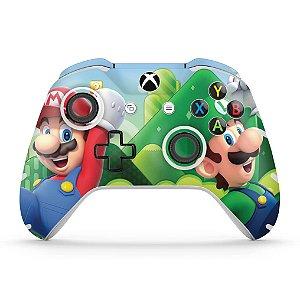 Skin Xbox One Slim X Controle - Super Mario Bros