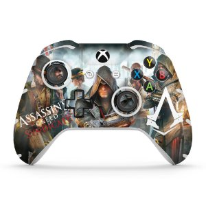 Skin Xbox One Slim X Controle - Assassin's Creed Syndicate