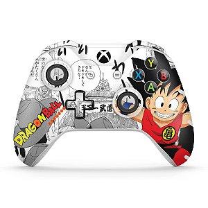 Skin Xbox One Slim X Controle - Dragon Ball Clássico