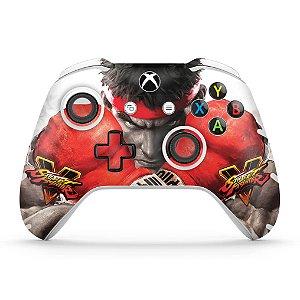 Skin Xbox One Slim X Controle - Street Fighter V