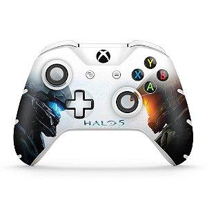 Skin Xbox One Slim X Controle - Halo 5: Guardians #B
