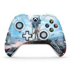 Skin Xbox One Slim X Controle - Star Wars - Battlefront