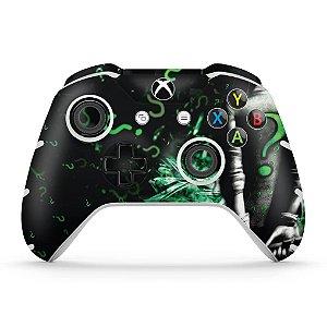 Skin Xbox One Slim X Controle - Charada Batman