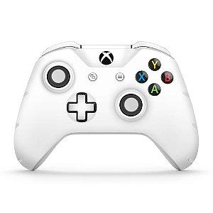 Skin Xbox One Slim X Controle - Branco