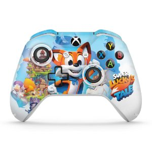 Skin Xbox One Slim X Controle - Super Lucky's Tale