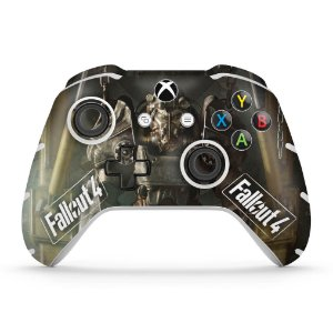 Skin Xbox One Slim X Controle - Fallout 4