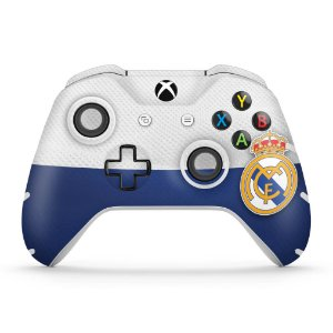 Skin Xbox One Slim X Controle - Real Madrid