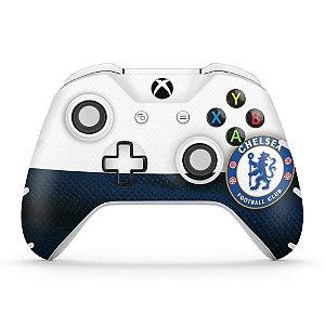 Skin Xbox One Slim X Controle - Chelsea