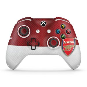 Skin Xbox One Slim X Controle - Arsenal