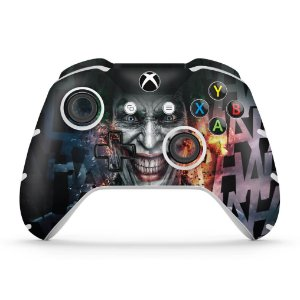 Skin Xbox One Slim X Controle - Coringa - Joker #A