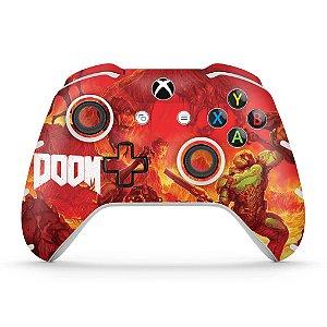 Skin Xbox One Slim X Controle - Doom