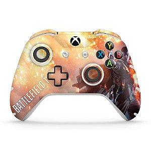 Skin Xbox One Slim X Controle - Battlefield 1