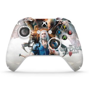 Skin Xbox One Slim X Controle - The Witcher 3 Blood And Wine
