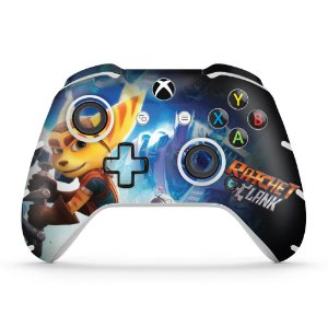 Skin Xbox One Slim X Controle - Ratchet and Clank