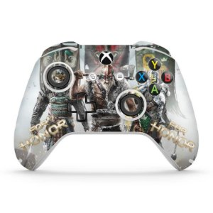 Skin Xbox One Slim X Controle - For Honor
