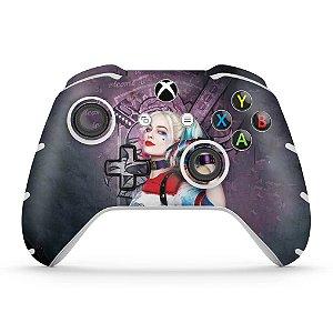 Skin Xbox One Slim X Controle - Esquadrão Suicida #C