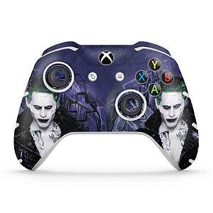 Skin Xbox One Slim X Controle - Esquadrão Suicida #D