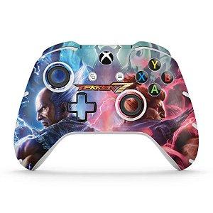 Skin Xbox One Slim X Controle - Tekken 7