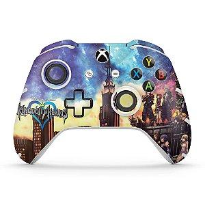 Skin Xbox One Slim X Controle - Kingdom Hearts