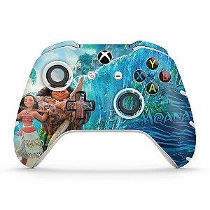 Skin Xbox One Slim X Controle - Disney Moana