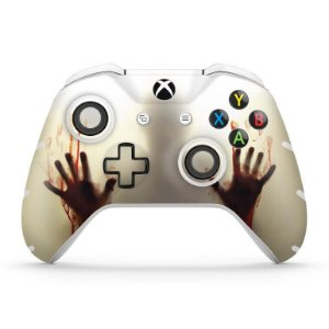 Skin Xbox One Slim X Controle - Fear The Walking Dead