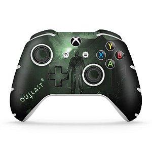 Skin Xbox One Slim X Controle - Outlast 2