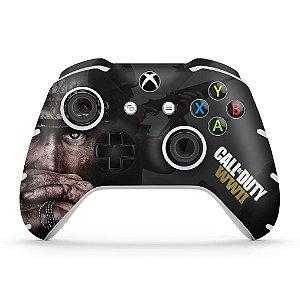 Skin Xbox One Slim X Controle - Call of Duty WW2