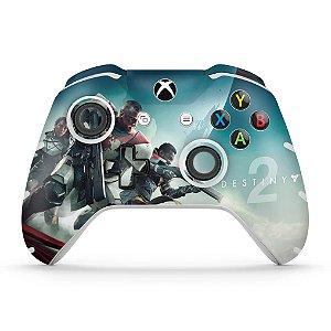 Skin Xbox One Slim X Controle - Destiny 2