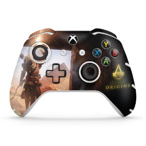 Skin Xbox One Slim X Controle - Assassin's Creed: Origins