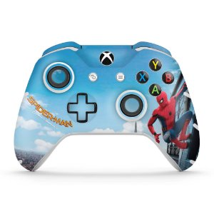 Skin Xbox One Slim X Controle - Homem Aranha - Spiderman Homecoming