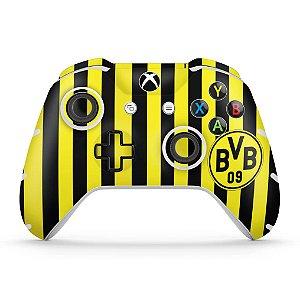 Skin Xbox One Slim X Controle - Borussia Dortmund BVB 09