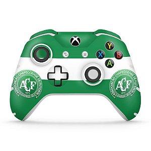 Skin Xbox One Slim X Controle - Chapecoense Chape