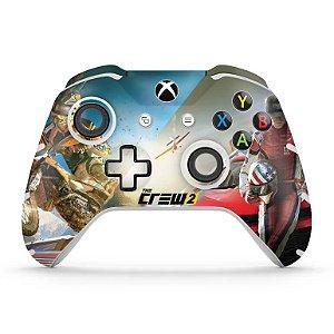 Skin Xbox One Slim X Controle - The Crew 2