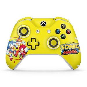 Skin Xbox One Slim X Controle - Sonic Mania