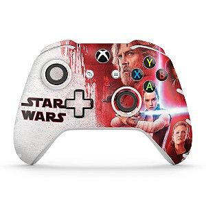 Skin Xbox One Slim X Controle - Star Wars The Last Jedi