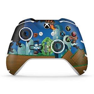 Skin Xbox One Slim X Controle - Rick And Morty Mario