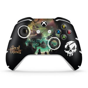 Skin Xbox One Slim X Controle - Sea Of Thieves