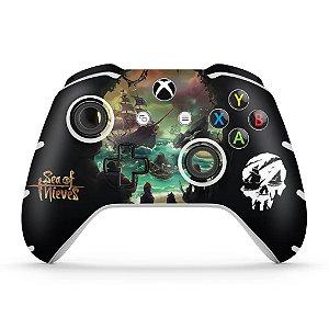 Skin Xbox One Slim X Controle - Sea Of Thieves