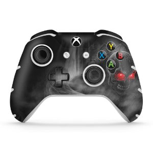 Skin Xbox One Slim X Controle - Caveira Skull