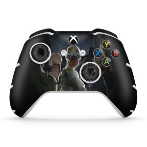 Skin Xbox One Slim X Controle - Zombie Zumbi The Walking